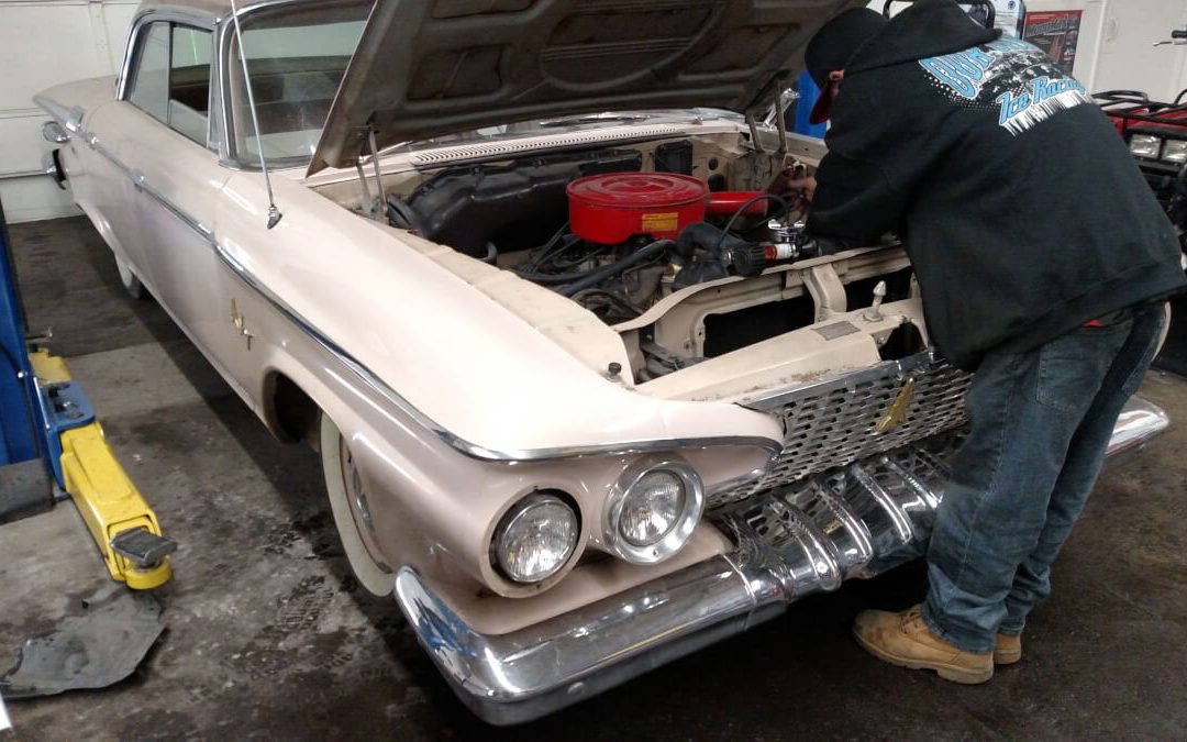 61 plymouth fury loose clamp story